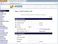 Payment Processor Interface